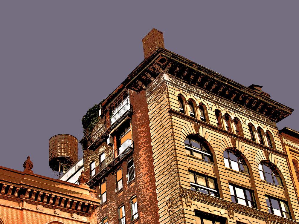 SoHo Tank (New York), digitally enhanced photograph, 2009.jpg