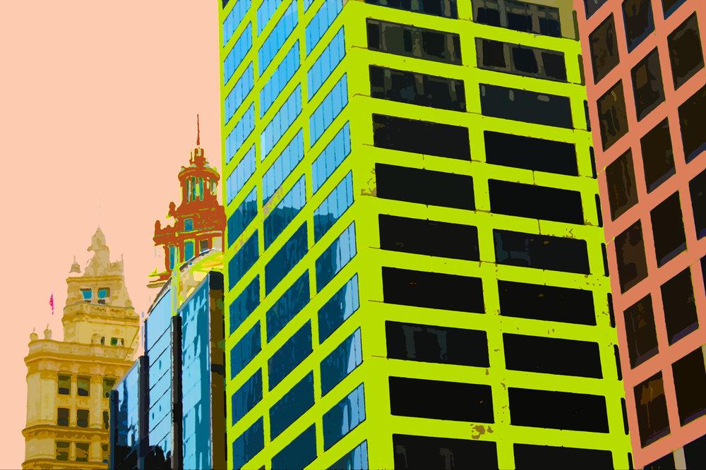 Reflections in Green, digitally enhanced photograph, 2014.jpg
