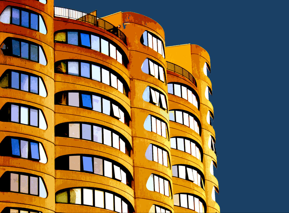 River City Blues, digitally enhanced photograph, 2005.jpg