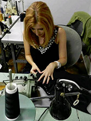 Take fashion classes with award-winning designer, Nina Gleyzer in her Atlanta, GA studio