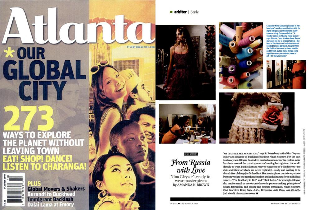 Atlanta Magazine — 2007