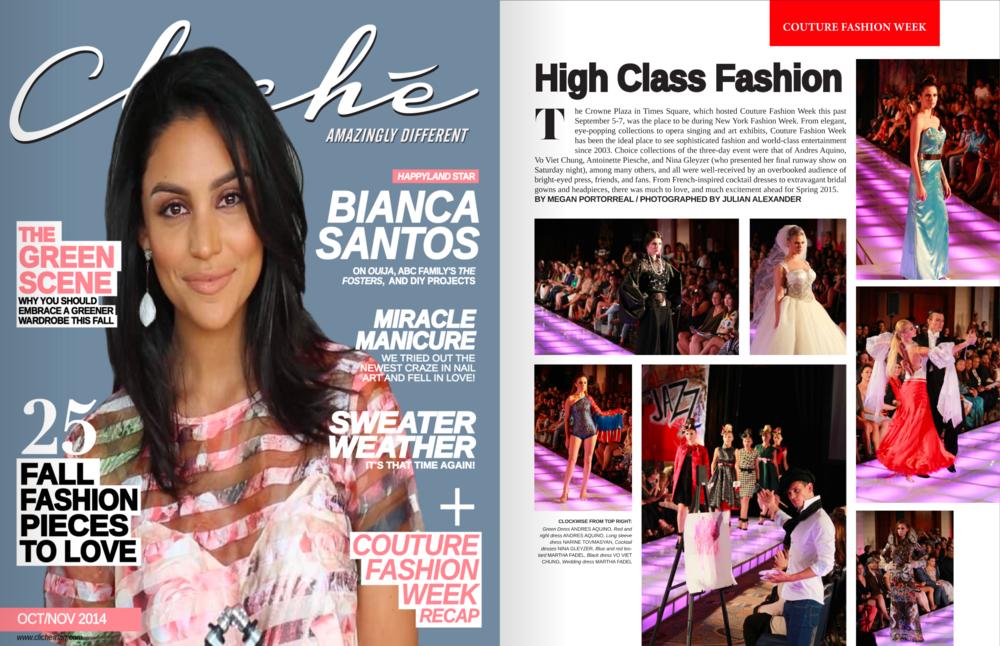 Cliché Magazine — 2014