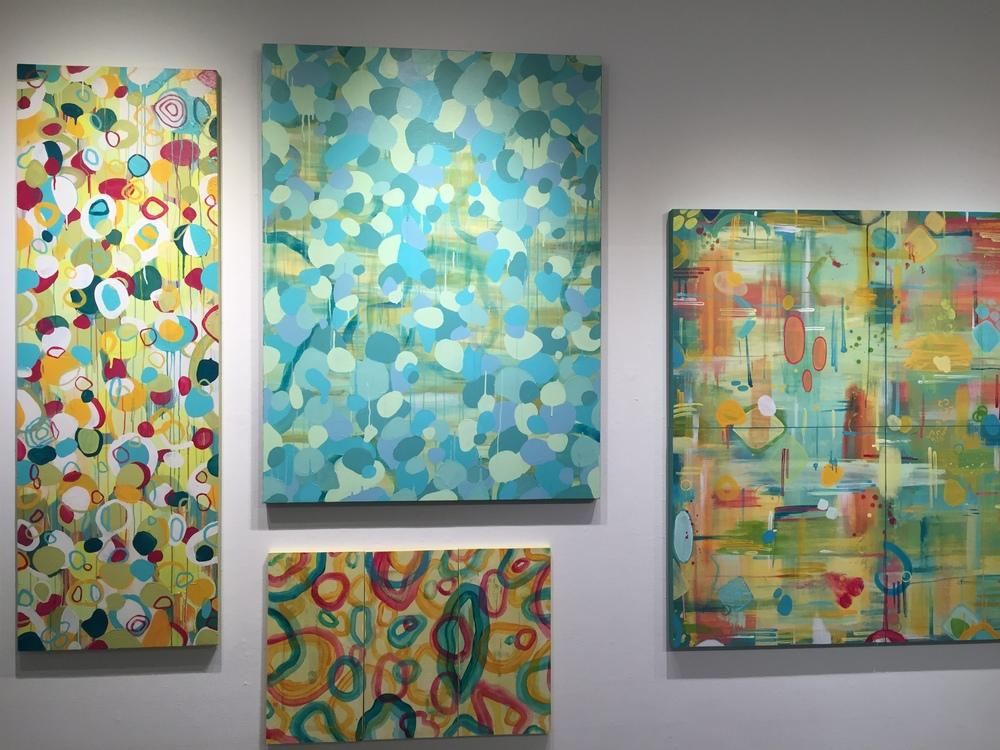 Left half of artworks