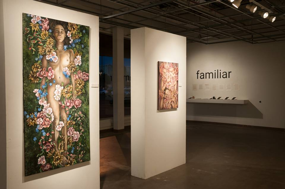 Familiar: BFA Drawing and Painting Exhibition, Gallery 100, Tempe, AZ