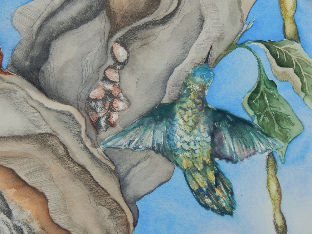 The Birds and the Bees II (detail)