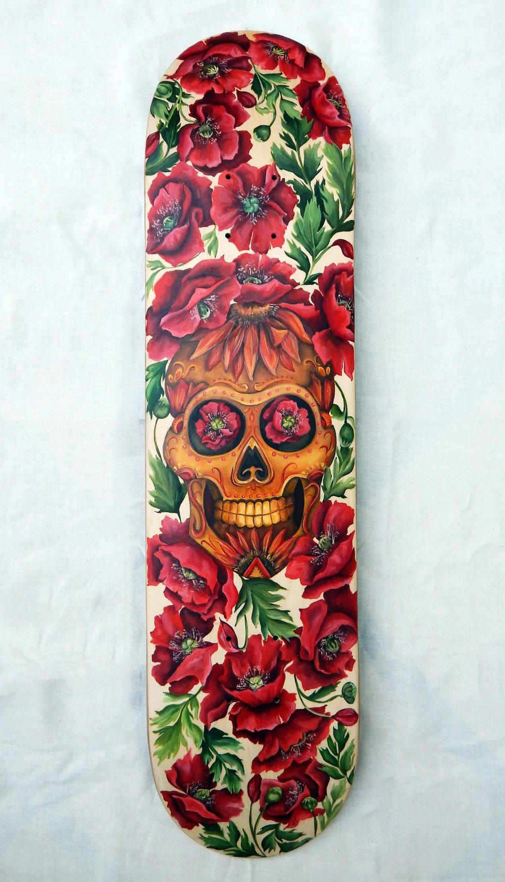 Skate Deck Commission