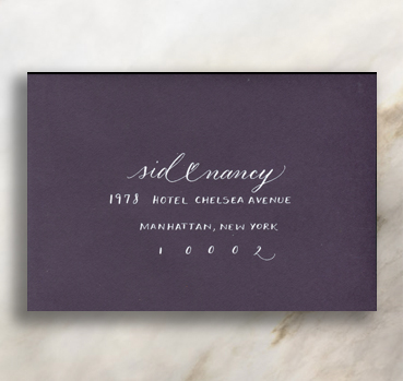 <3   This option is made for lovers. Perfect for uniting couple's first names, mr <3 mrs, or a <3 between your guest's first and last names.