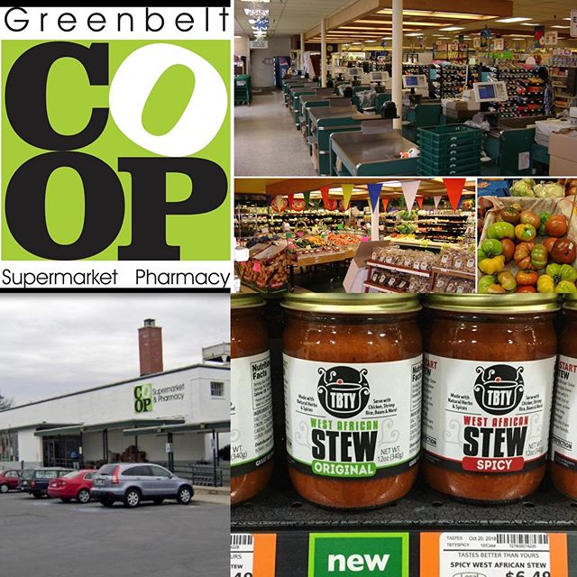 We are super happy to announce that you can now buy our delicious TBTY (Tastes Better Than Yours) West African Stew at Greenbelt COOP Supermarket - Located at 121 Centerway, Greenbelt, MD, 20770 #westafricanfood #africanfoods #nigerianfood #jollofrice #jollofriceisbae #jollofriceandchicken #africanfoodstore #riceandstew #easyrecipes #vegan #veganrecipes #veganfood #easyveganmeals #easyveganrecipes #fingerlickinggood #shoplocal #supportsmallbusiness #supportblackbusiness #supportlocal #dmv #dcfoodie #greenbeltmd