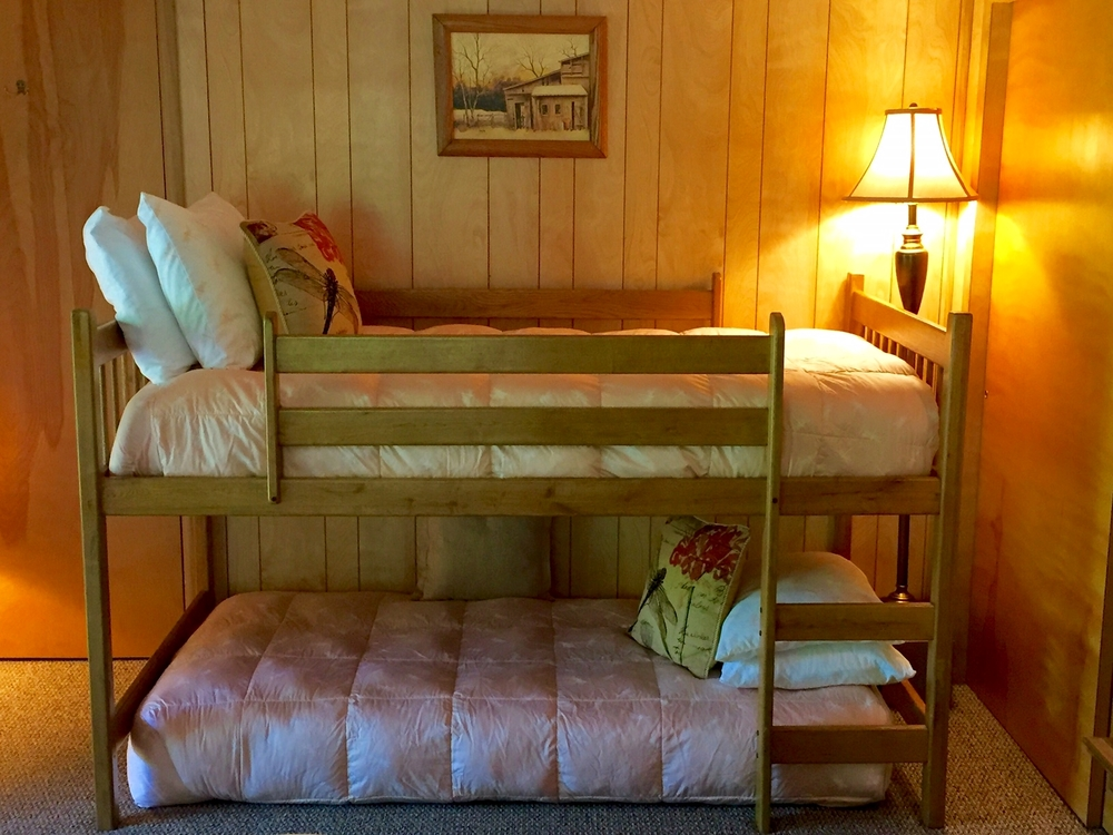 Downstairs Lake Bedroom Bunk Bed