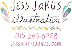 Jess Jakus Illustration