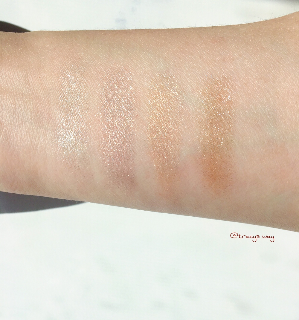 Sonia Kashuk Eye on Textured Nudes Swatches