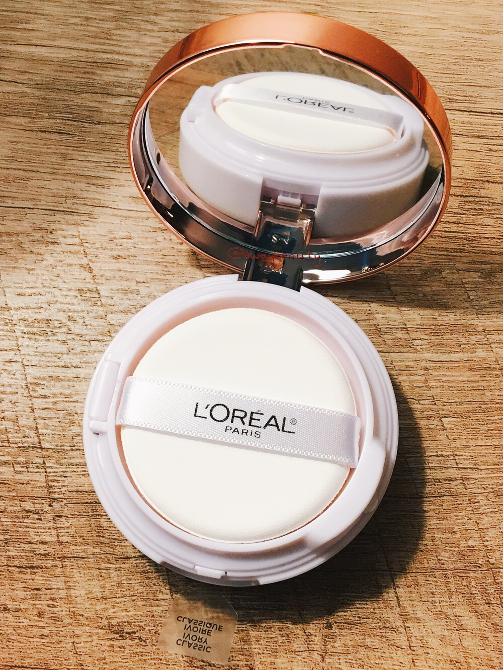 Loreal True Match Lumi Cushion Foundation Review Tracys Way Buildable Luminous Is Described As A Liquid That Provides Fresh Look Easily For
