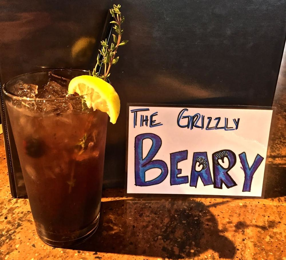 Spike's Grizzly Berry