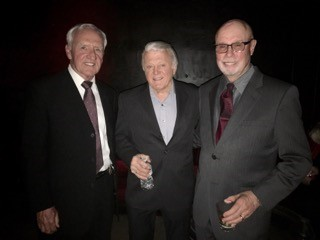 """TONY BUTALA , LEAD SIGNER OF  THE LETTERMEN  WITH JOE D AND BILL S. HE THRILLED US WITH THEIR FIRST SONG, """" THAT'S MY DESIRE"""" !"""