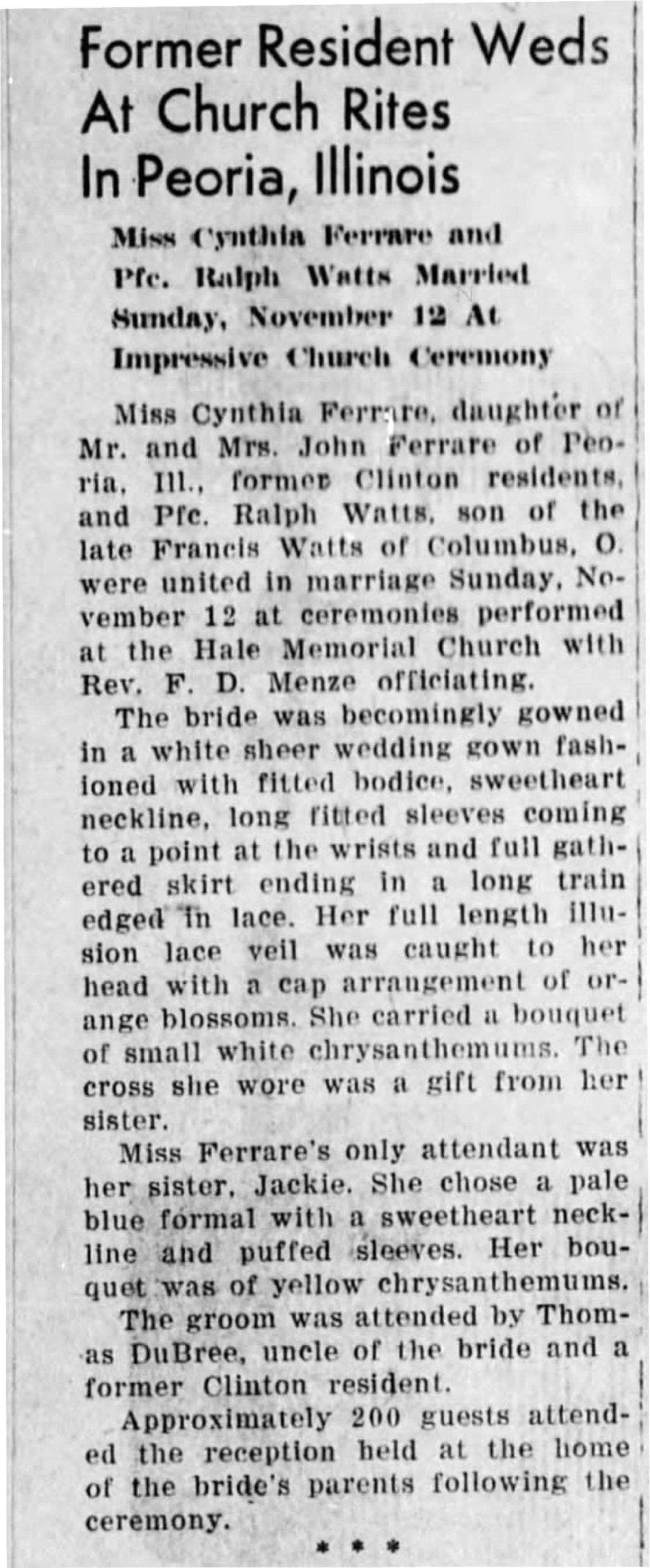 The Daily Clintonian (Clinton, Indiana) Jan 3, 1945