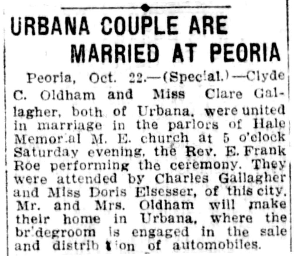 The Pantagraph (Bloomington, Illinois) Oct 23, 1922