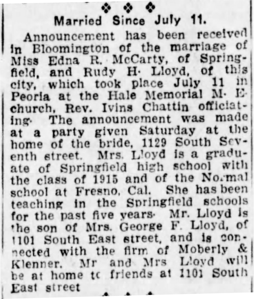 The Pantagraph (Bloomington, Illinois) Dec 26, 1921