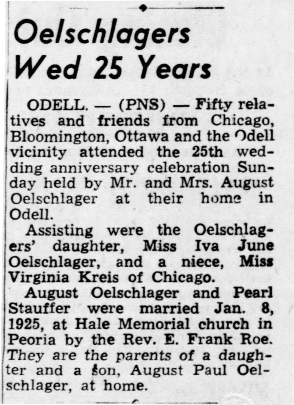 The Pantagraph (Bloomington, Illinois) Jan 14, 1950