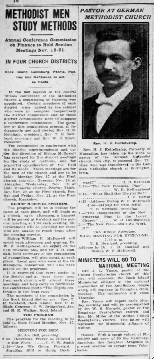 The Rock Island Argus and Daily Union (Rock Island, Illinois) Nov 8, 1913