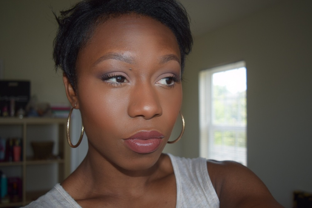 Last Week I Unveiled My Go To Makeup Look You Cant Wrong With Matte Eyeshadow Nude Lips And A Fresh Face