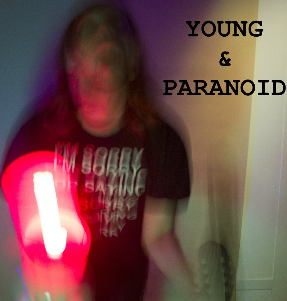 YOUNG & PARANOID - the second album composed entirely on the haunted electric mandolin Ira Lawrence received from his estranged grandmother- features cathartic and distorted post-folk songs about ditch-digging vagabonds, bedbugs, killer cops, mimes, and murderers.  After a brush with Filipino Soap Opera stardom on his summery 2016 debut album MAPAGKAWANGGAWA, Ira returned to New York with no fixed address and fell into a deep depression after the death of David Bowie and his non-estranged grandmother Jean Satisky. Young & Paranoid's raw and emotive songs emerged from an ether of loneliness, loss, displacement, fear for the future, and finding hope in the darkest of times.  Young & Paranoid was self-recorded by Ira in various bedrooms and cat-sitting gigs in Brooklyn between Christmas of 2015 and Christmas 2016. It was mixed and mastered by John Jagos AKA Brothertiger in Greenpoint in March of 2017.  It features: NO GUITARS and NO DRUMS ONLY IRA LAWRENCE'S HAUNTED MANDOLIN