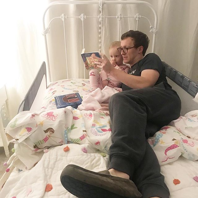 Big day for our family! Grace had her first night in her big girl bed and we had (most likely) our last view of baby sister until she's in our arms. Our hearts are full and so very grateful!