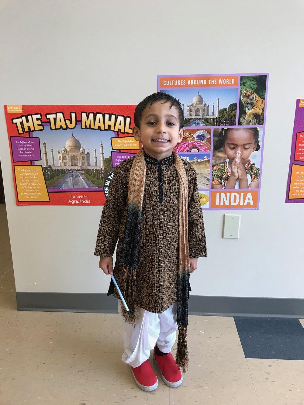 Representing India