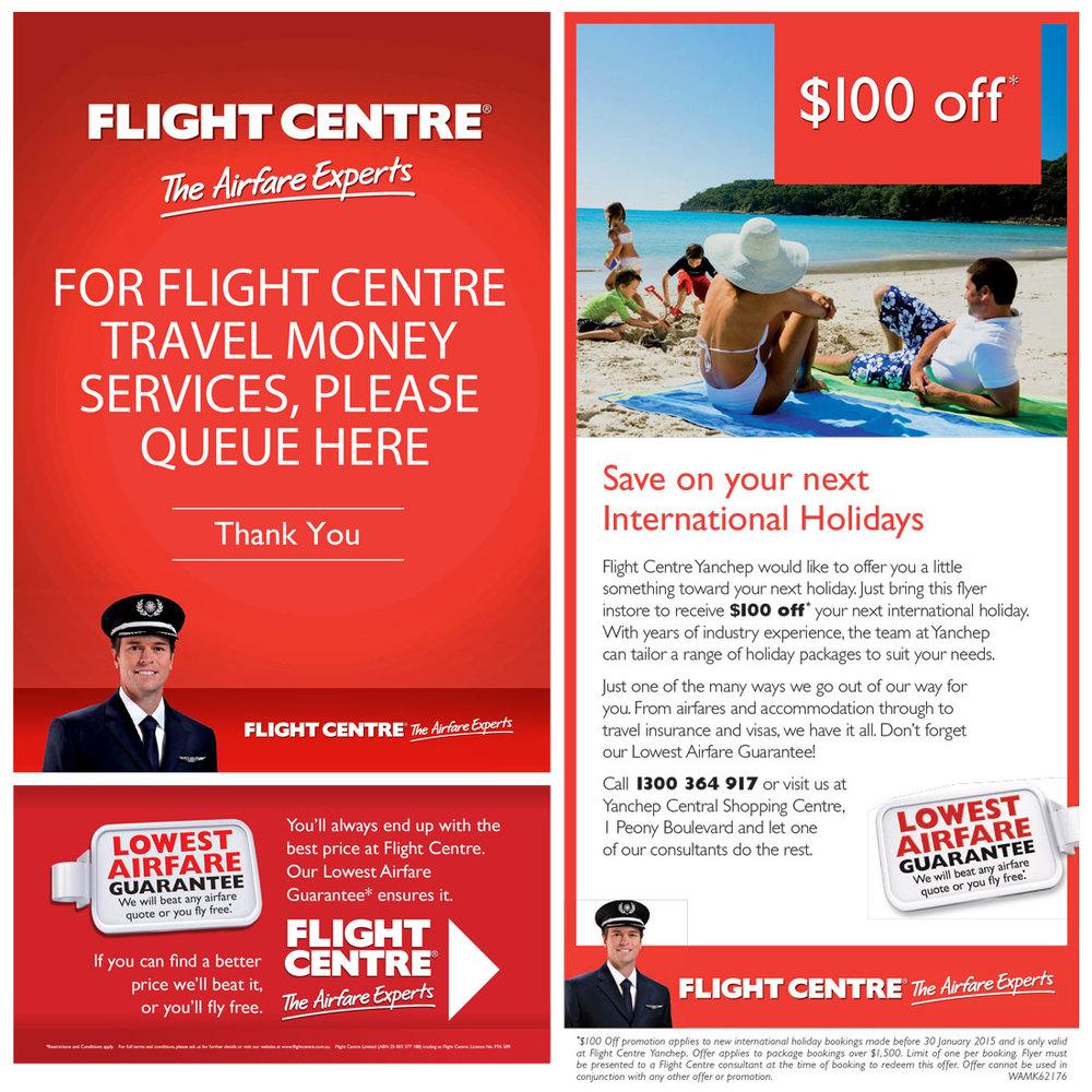 Flight Centre Magazine Press Ad