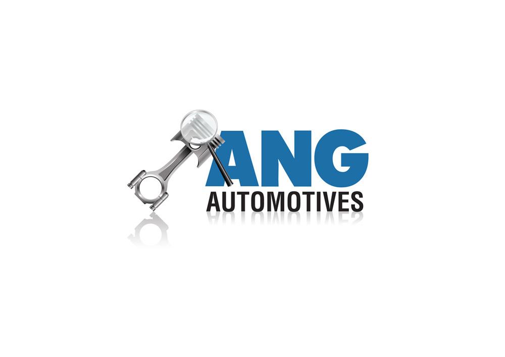 ANG Automotive Logo Design