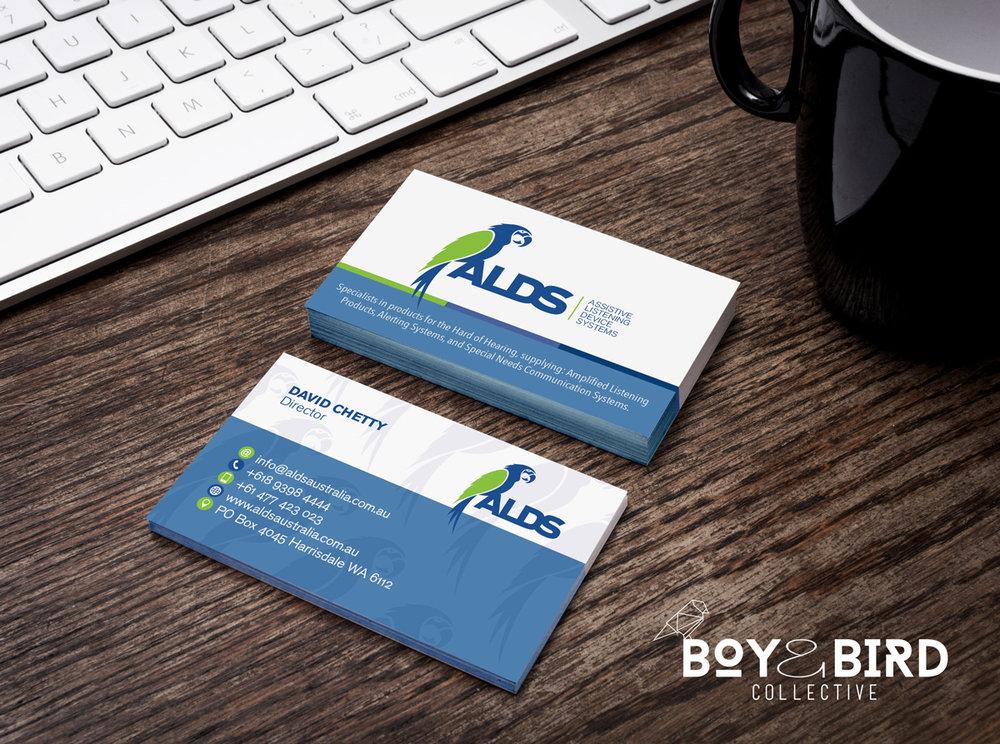 ALDS Logo Design & Business Cards