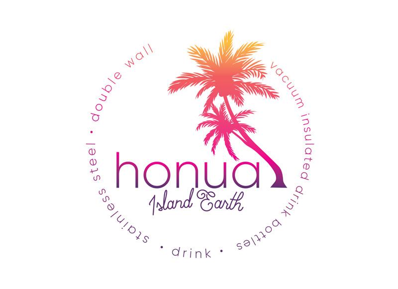 Honua Drink Logo Design