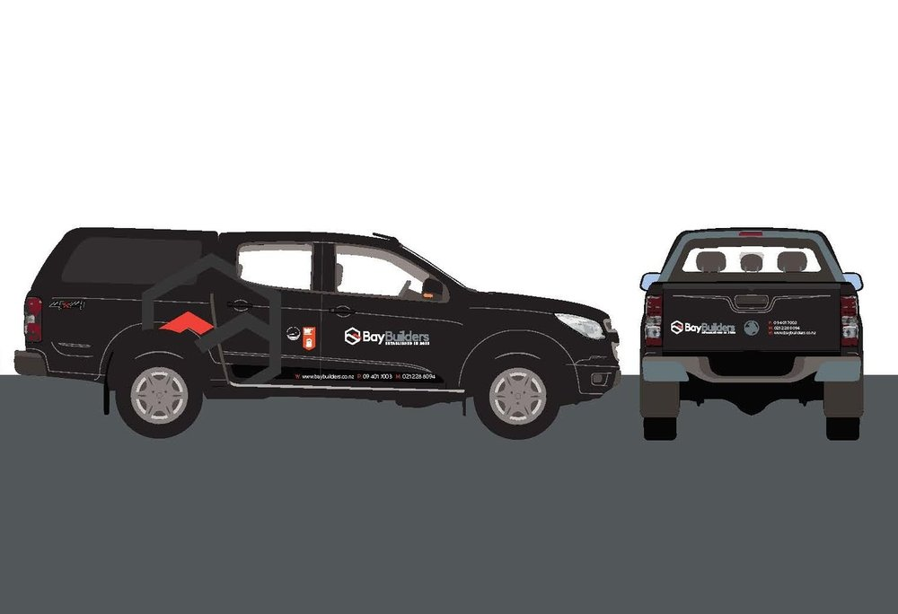 Bay Builders Vehicle Graphics