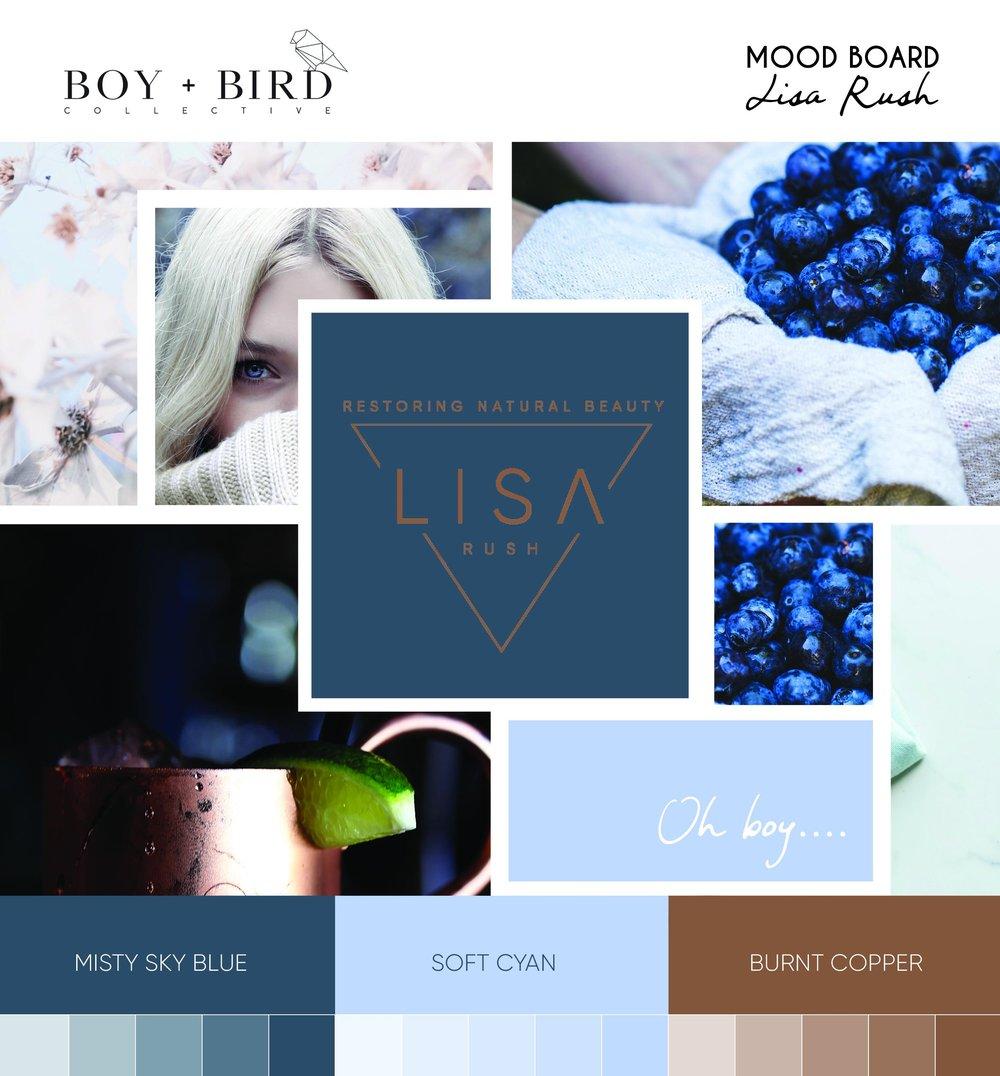 Lisa Rush Mood Board