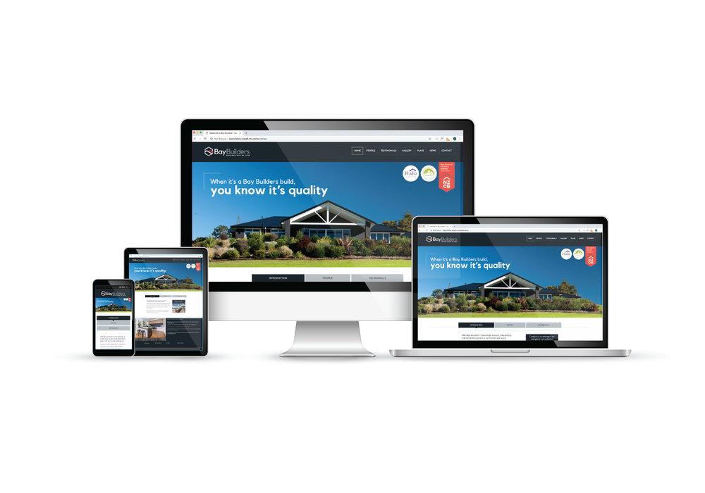 Bay Builders Website Design and Build