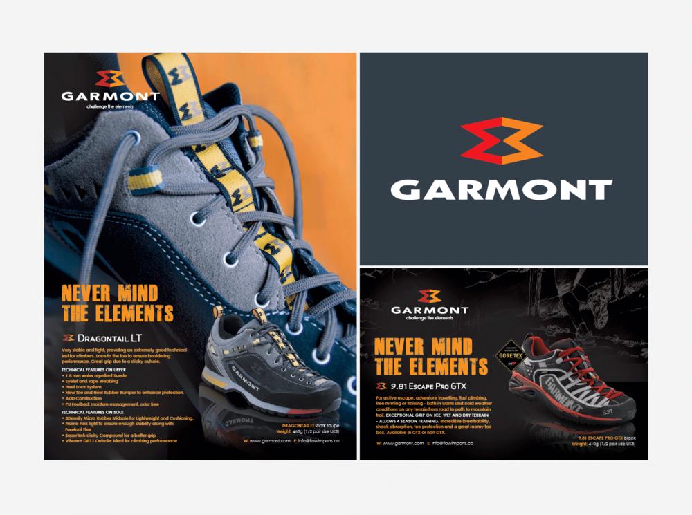 Garmont Footwear Press Adverts