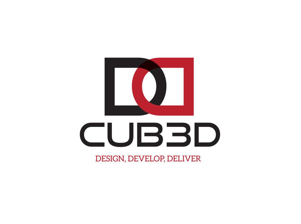CUBED Logo Design