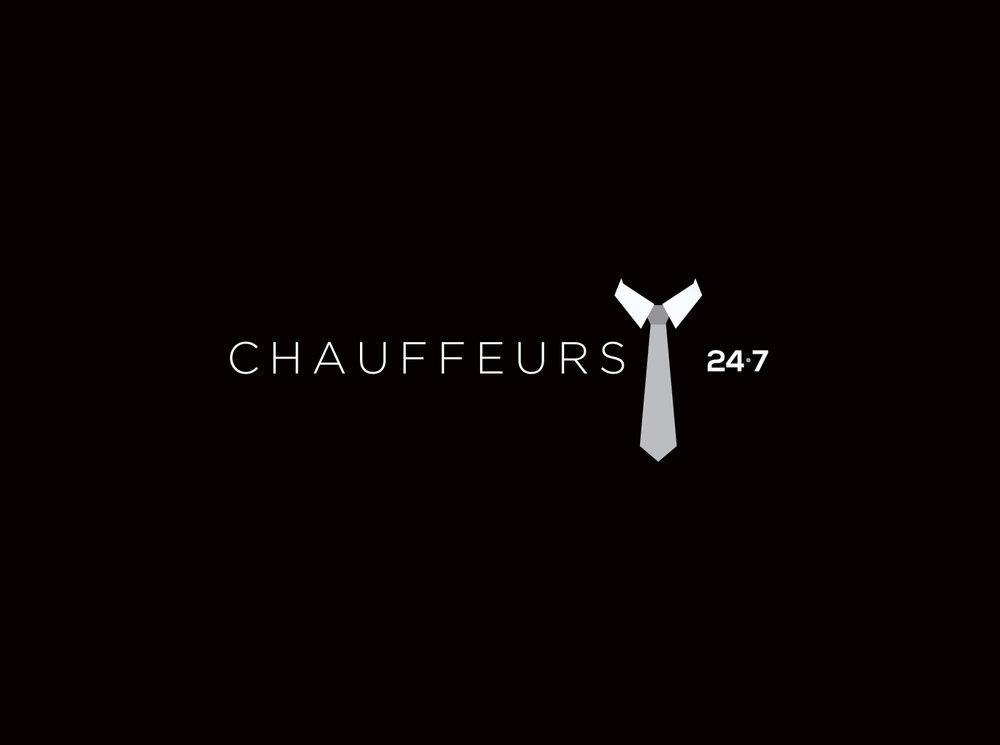 Chauffeurs 24.7 Logo Design