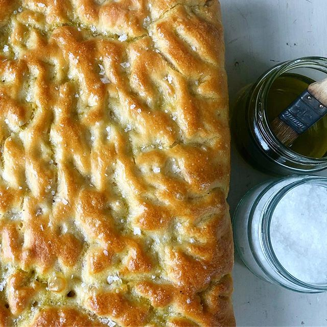 FOCACCIA . Recipe from @ciaosamin salt.fat.acid.heat. If you haven't got the book aka bible do yourself a favour and watch the series on Netflix. #saltfatacidheat  #dallynandkerr  #dallynandkerrcatering #sydney #wedding #weddingcatering #bespokecatering #northernbeaches #supportlocal #smallbusiness #foodstagram #igfood #goodeats #foodie #foodbloggers #instafood #delicious #fresh #food #foodphotography #eatright #foodstyling #foodlove #foodvsco #foodpics #foodlover #foodgram #foodshare
