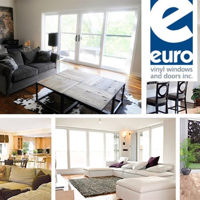 #eurovinylwindow - let us help you create the home of your dreams.  The options are endless. #doyleswindows #napanee #shoplocal
