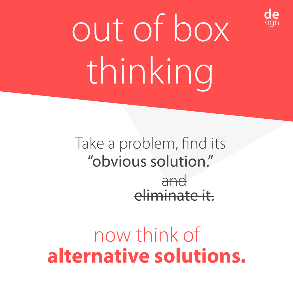 Out of Box Thinking