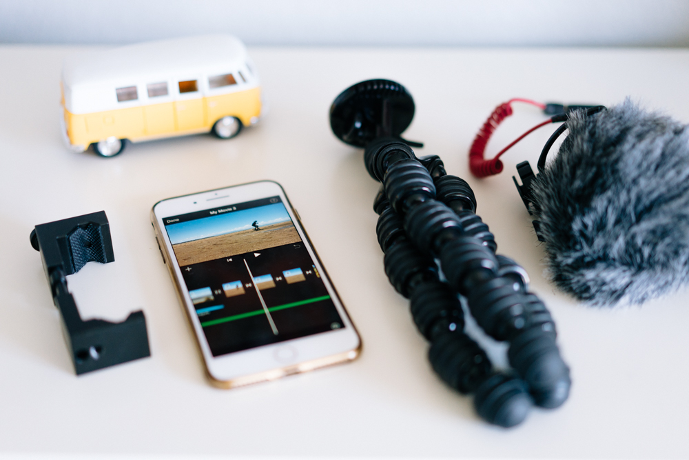 iphone video course shot and editing