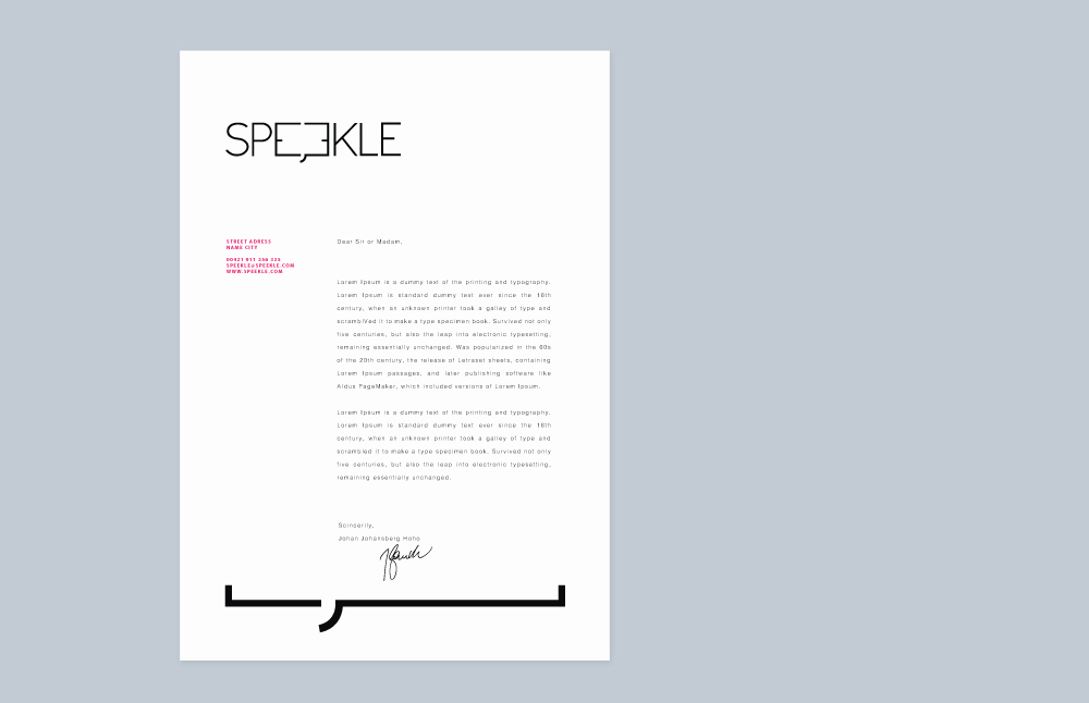Logo & Branding for Speekle, Slovakia  Multiple awards in both Branding and Print category