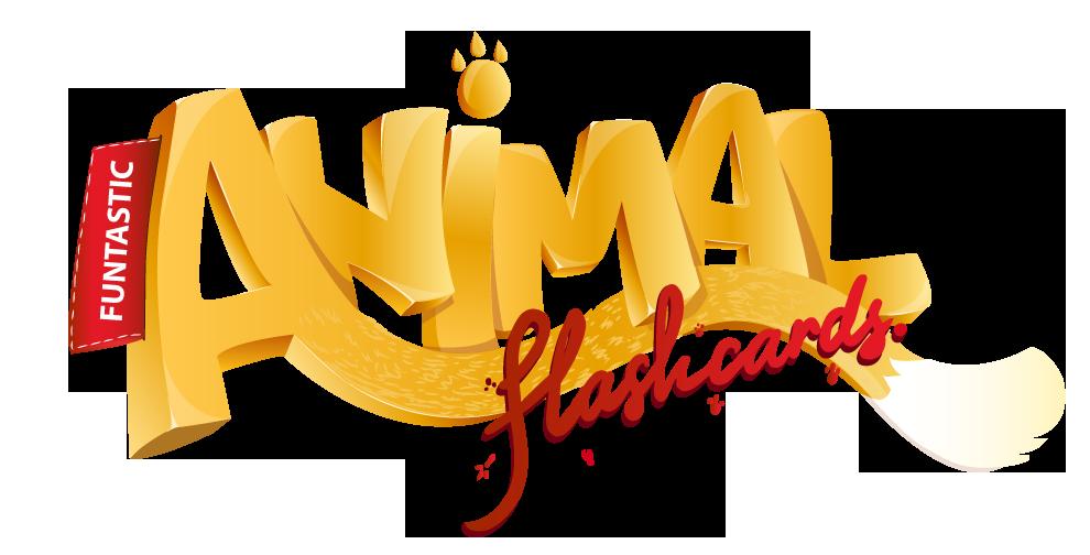 Logo design for Funtastic Animal Flashcards iOS Game app