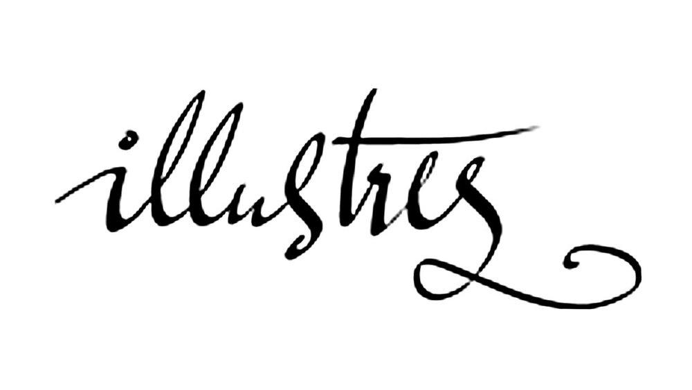 Illustres - Schriftzüge