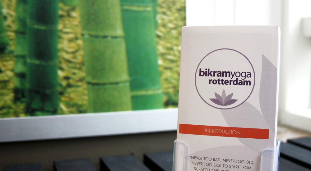 Bikram Yoga Rotterdam's brochures