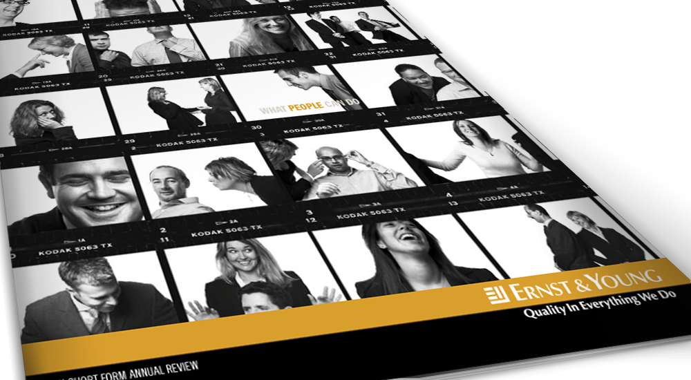 EY's small-format Annual Report