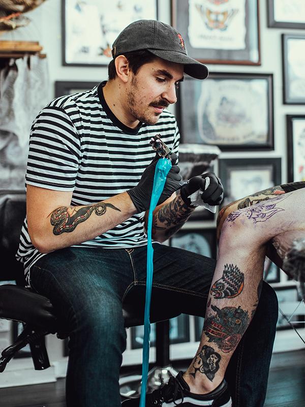 Man's Ruin Tattoo in St Kilda, home of Melbourne's best tattoo artists. Man's Ruin Tattoo Melbourne, Australia. Best tattoo studio in St Kilda, Australia.