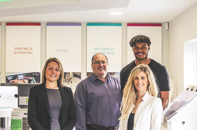 We are very proud of the new HQ we recently completed for BOFA International - a great workplace design project for us to be involved in from start to finish! Here's our directors Katie & Tyrone with the happy client ☺️ @katie__thomas__ @tyronemings 📸 @zacdes  #workplacedesign #design #architecture #interiordesign #commercial #lifestyle #productivity #intelligentdesign #commercial #office #business #bournemouth #london #poole #dorset #property #value #businessgrowth #inspire #interiorinspo  #lovewhatyoudo #officedesign #project