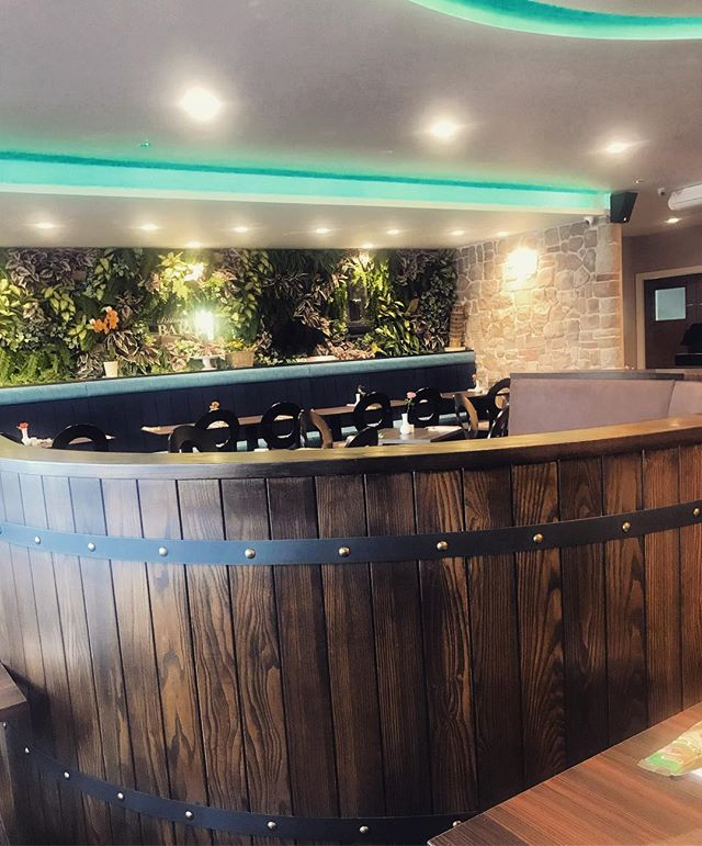 Lovely lunch yesterday in the restaurant we designed ☺️ the barrel booths look great 👌🏼 • #ktmdesign #design #architecture #interiordesign #business #dorset #property #luxury #interior #poole #bournemouth #project #contemporary #lifestyle #innovation #productivity #restaurant #decor #commercial #hospitality #inspire #intelligentdesign #home #interiorstyling #interiorinspo