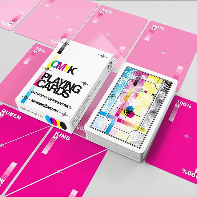 Coming soon to MightyDeals! The final ever CMYK Playing Cards ♥️ ♠️ ♦️♣️